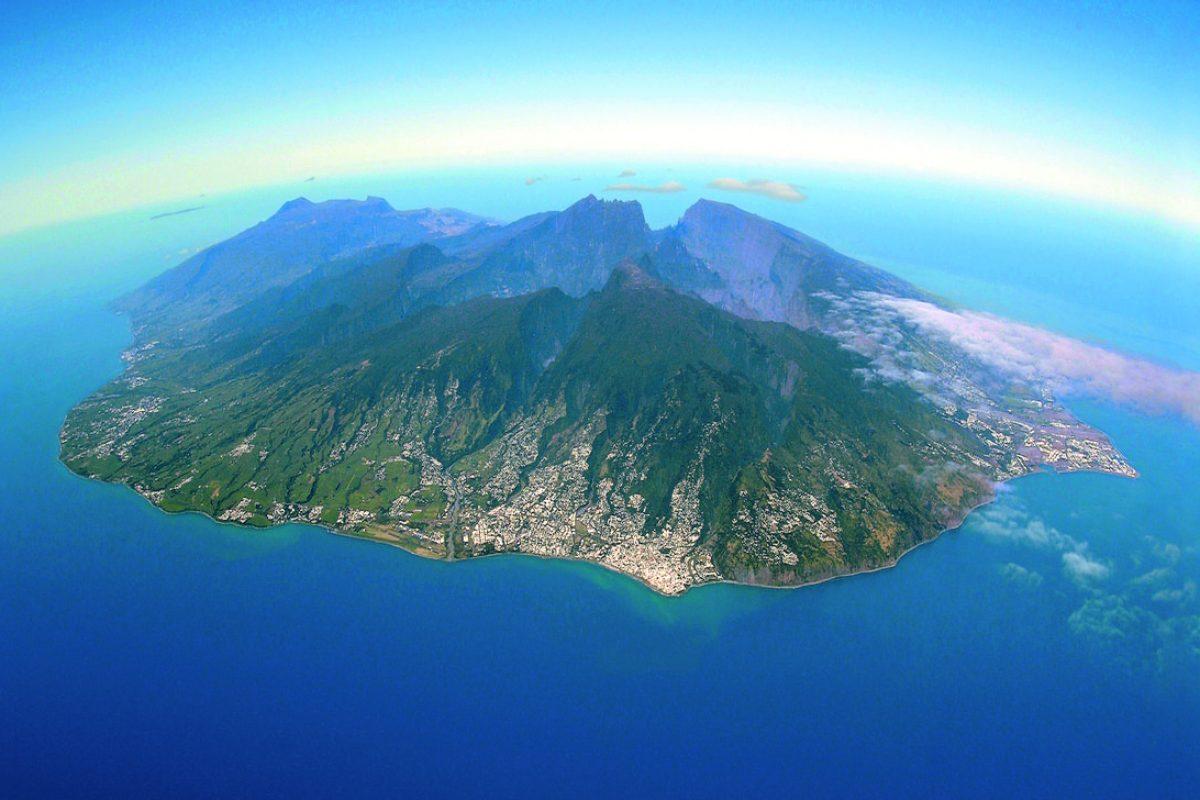 La Géographie de l'île de La Réunion